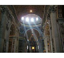 St. Peter's Basillica Photographic Print