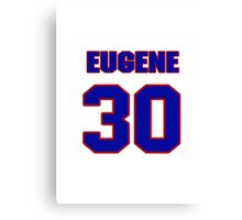 National football player Eugene Daniel jersey 30 Canvas Print