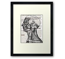 Fearfully And Wonderfully Made-Art Prints-Mugs,Cases,Duvets,T Shirts,Stickers,etc Framed Print