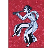 gRECIAN dANCER Photographic Print