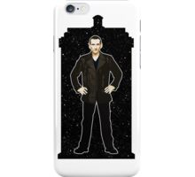 Ninth Doctor and The TARDIS iPhone Case/Skin