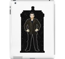 Ninth Doctor and The TARDIS iPad Case/Skin