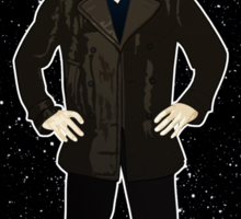 Ninth Doctor and The TARDIS Sticker
