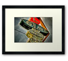 6th AVE Framed Print