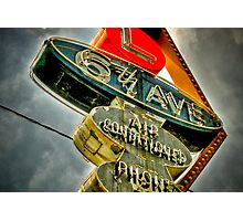 6th AVE Photographic Print