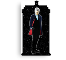Twelfth Doctor and The TARDIS Canvas Print