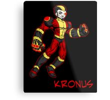 super villains: kronus... Metal Print