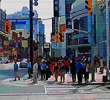 A Day In The Life Of Toronto -Art Prints-Mugs,Cases,Duvets,T Shirts,Stickers,etc by Robert Burns