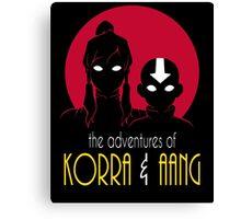 The Adventures of Korra & Aang Canvas Print