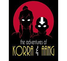 The Adventures of Korra & Aang Photographic Print
