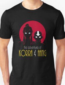 The Adventures of Korra & Aang T-Shirt