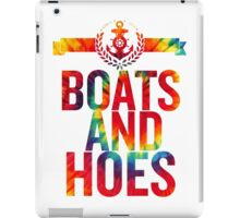 Boats and Hoes iPad Case/Skin