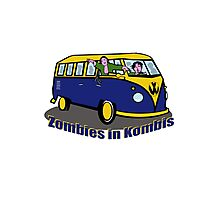 Zombies in Kombies Photographic Print