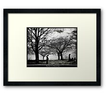 Mother In Mourning Framed Print