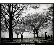 Mother In Mourning Photographic Print