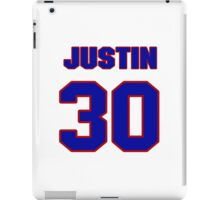 National football player Justin Tryon jersey 30 iPad Case/Skin