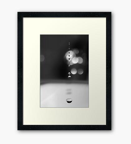Leaky Tap Framed Print