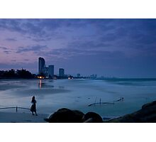 Twilight in Hua Hin Photographic Print