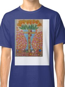 EIGHT BLEEDING TULIPS Classic T-Shirt