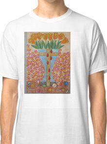 EIGHT BLEEDING TULIPS Classic T-Shirt