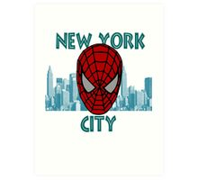 Spidey New York Art Print