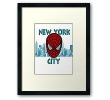 Spidey New York Framed Print