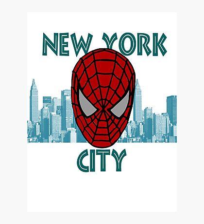 Spidey New York Photographic Print