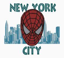 Spidey New York by shaz3buzz2
