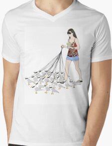 My pet seagulls Mens V-Neck T-Shirt