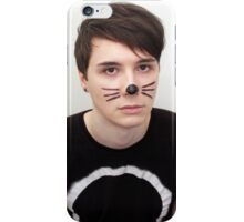 Dan Howell Twitter Icon iPhone Case/Skin