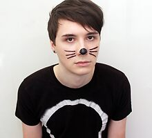 Dan Howell Twitter Icon by phan trashno1