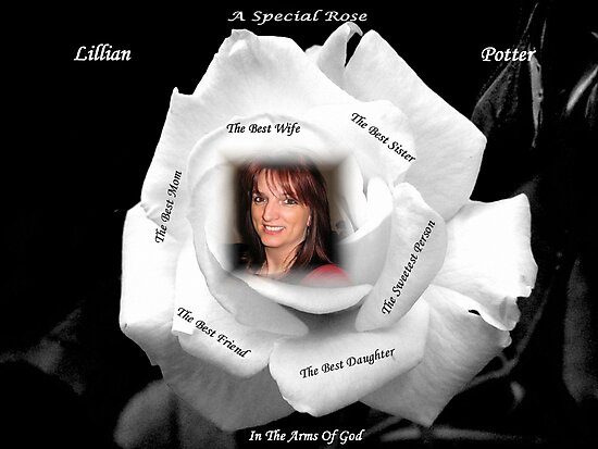 A Special Rose - In The Arms Of God by Gail Bridger