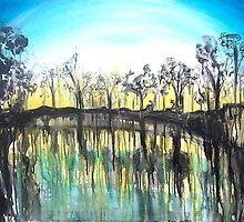 Murray River by whittyart