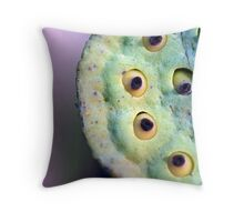 Lilly Seed Head Throw Pillow