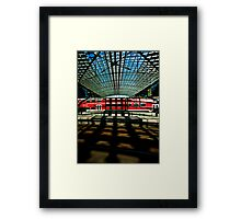 DB Framed Print