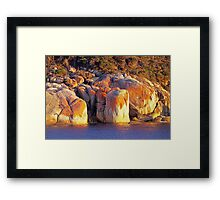 Refuge Cove Point Framed Print