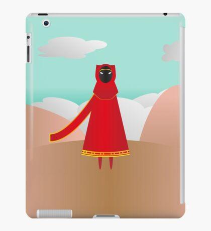 Red Traveler iPad Case/Skin