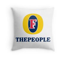 Foster the people. Throw Pillow