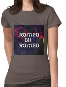 Romeo and Juliet Roses Womens Fitted T-Shirt