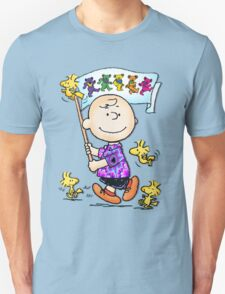 Wave that flag Charlie Brown T-Shirt