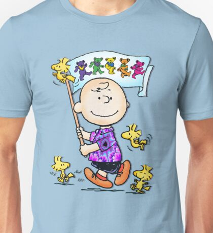 Wave that flag Charlie Brown Unisex T-Shirt