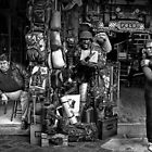 the vendors (Athens)  by Matt Mawson