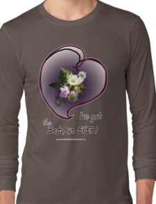 wildflower, Best Mum EVER! heart Long Sleeve T-Shirt