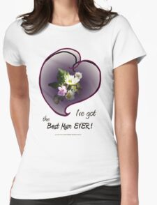 wildflower, Best Mum EVER! heart T-Shirt