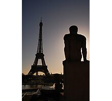 Eiffel Tower from Trocadero Photographic Print