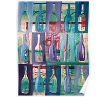 WINE BOTTLES II Poster