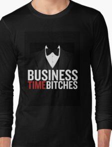 Business Time Long Sleeve T-Shirt
