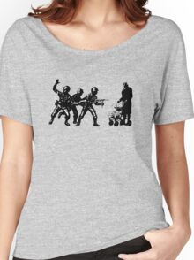 Once upon a time there was a granny in Gaza Women's Relaxed Fit T-Shirt