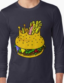 KING'S BURGER by RADIOBOY Long Sleeve T-Shirt