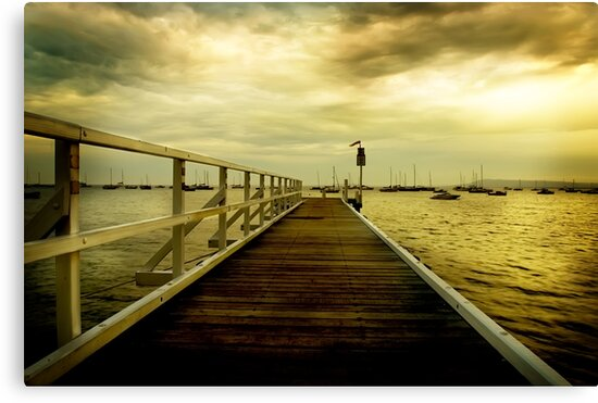 sorrento pier by Melinda Kerr